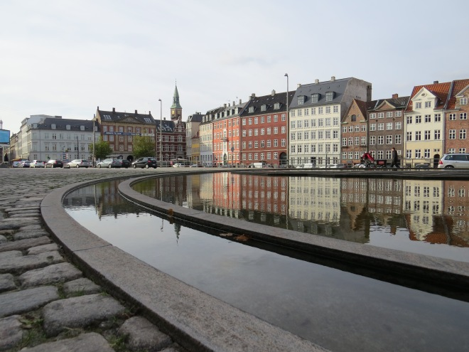 Canals beside Christiansborg Palace, Copenhagen